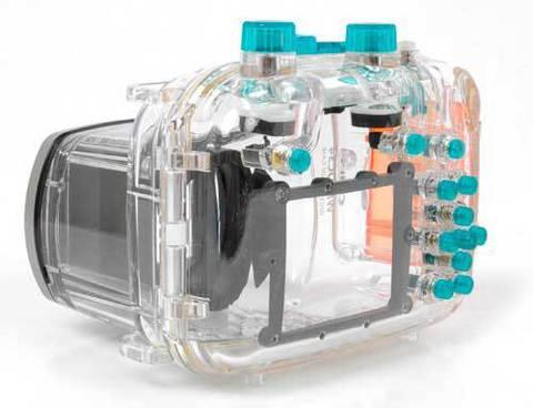 Подводный бокс (аквабокс) Jnt для Canon Powershot G11, G12