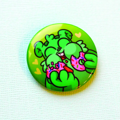 Значок Подди (зеленый)