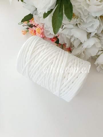 Белый Лайт 3 мм Полиэфирный шнур