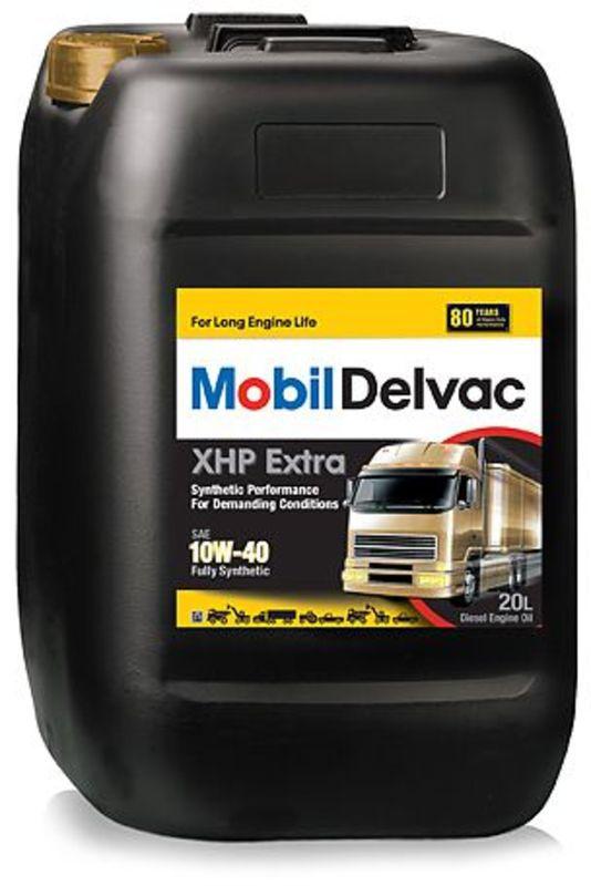 Mobil Delvac XHP Extra 10W40 Синтетическое дизельное моторное масло