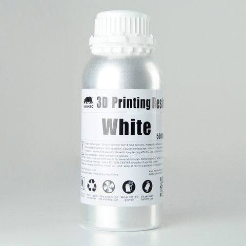 Фотополимер Wanhao Standard Resin, белый (500 мл)