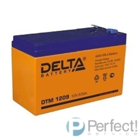 Delta DTM 1209  (9 А\ч, 12В) свинцово- кислотный аккумулятор