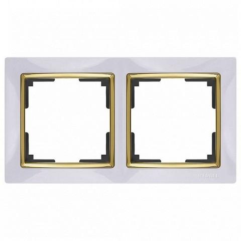 Werkel Рамка W0021933 (WL03-Frame-02) белый/золото