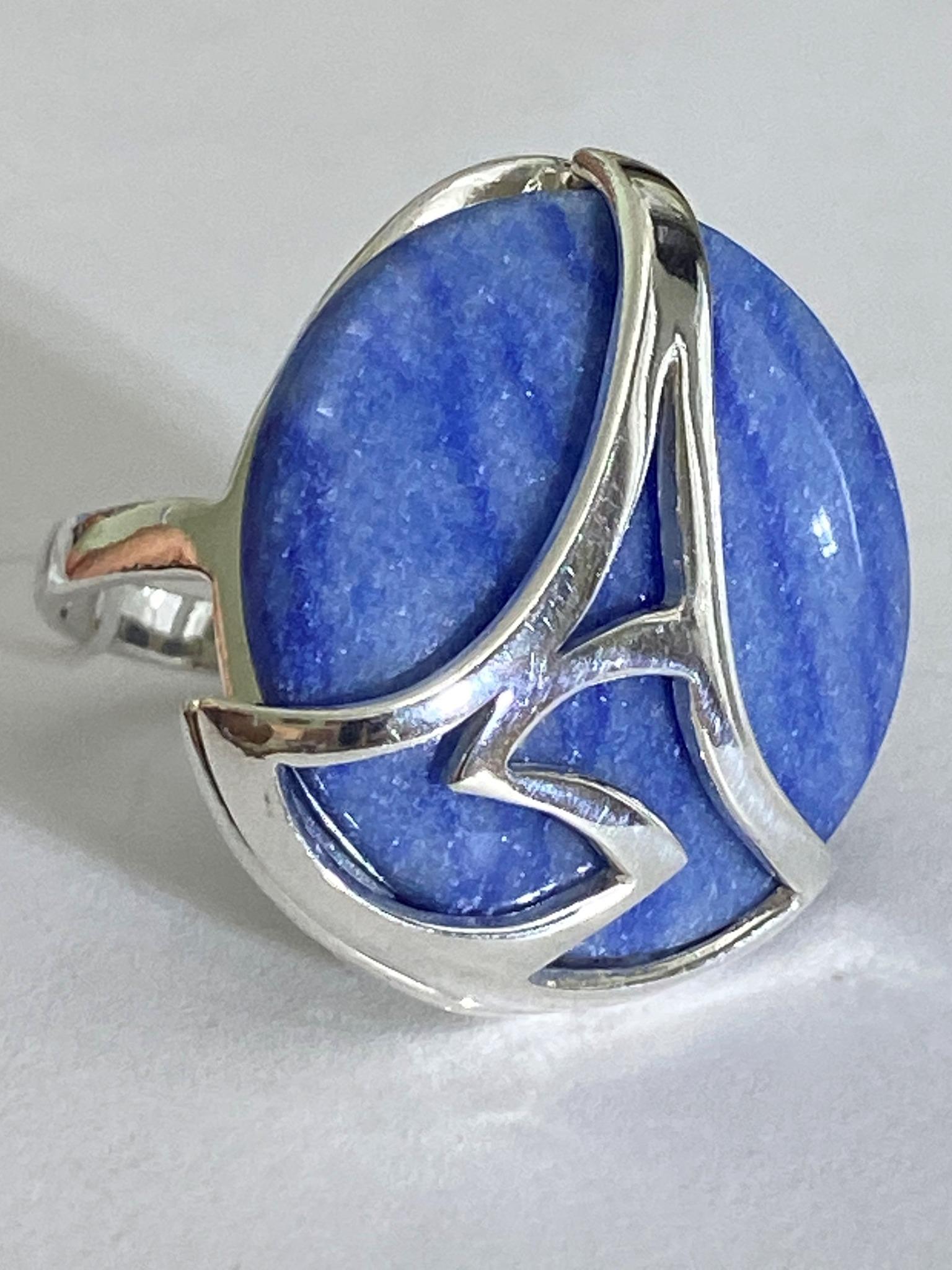 Гармония  (кольцо из серебра)