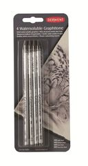 Набор чернографитных карандашей GRAPHITONE 2B,4B,6B,8B 4шт., блистер