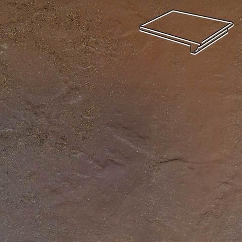 Ceramika Paradyz - Semir Beige, 300x330x11, артикул 5213 - Ступень простая с капиносом структурная