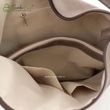 Сумка Саломея 387 трюфель + шоколад (рюкзак)