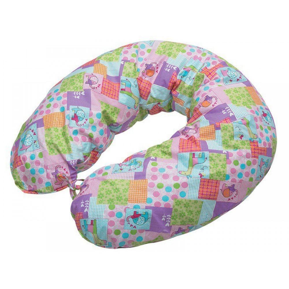 Подушки для беременных и кормящих мам Подушка-рогалик ортопедическая ТОП-113 1037716480.jpg