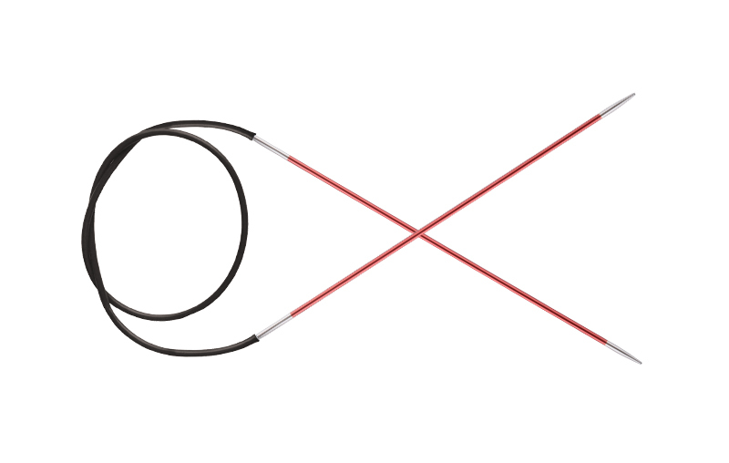 Спицы KnitPro Zing круговые 2.0 мм/80 см 47121