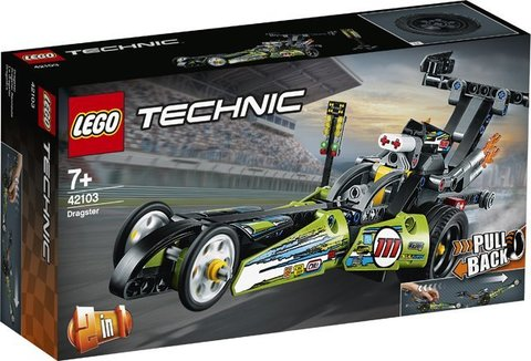 Lego konstruktor Technic Dragster