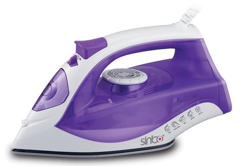 Утюг Sinbo, 2200 Вт, керамическая подошва, фиолетовый