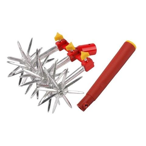 GRINDA 6-ти звездочный культиватор, с пластиковой ручкой