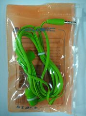 Гарнитура вакуумная S-Music Start CX-1102 green