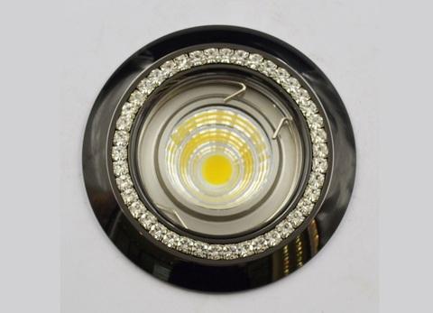 Встраиваемый светильник LDY-LD1802-BCH GU5.3 Черный хром