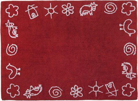 Ковер Lorena Canals Farm Red (120 х 160)