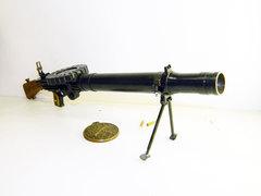 Miniature Lewis WW1 machine gun scale 1:4