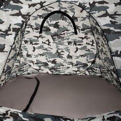 Зимняя палатка автомат Premier Fishing 1,5х1,5 м, камуфляж, дно на молнии (PR-D-TNC-036-1.5)