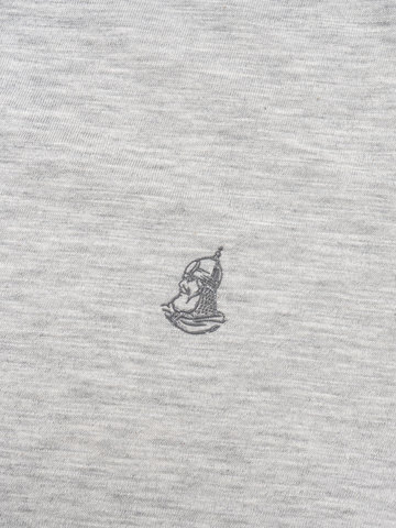 Мужская футболка «Великоросс» цвета серый меланж