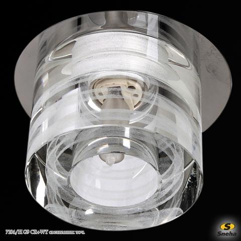 7104/H G9 CR+WT светильник точ.