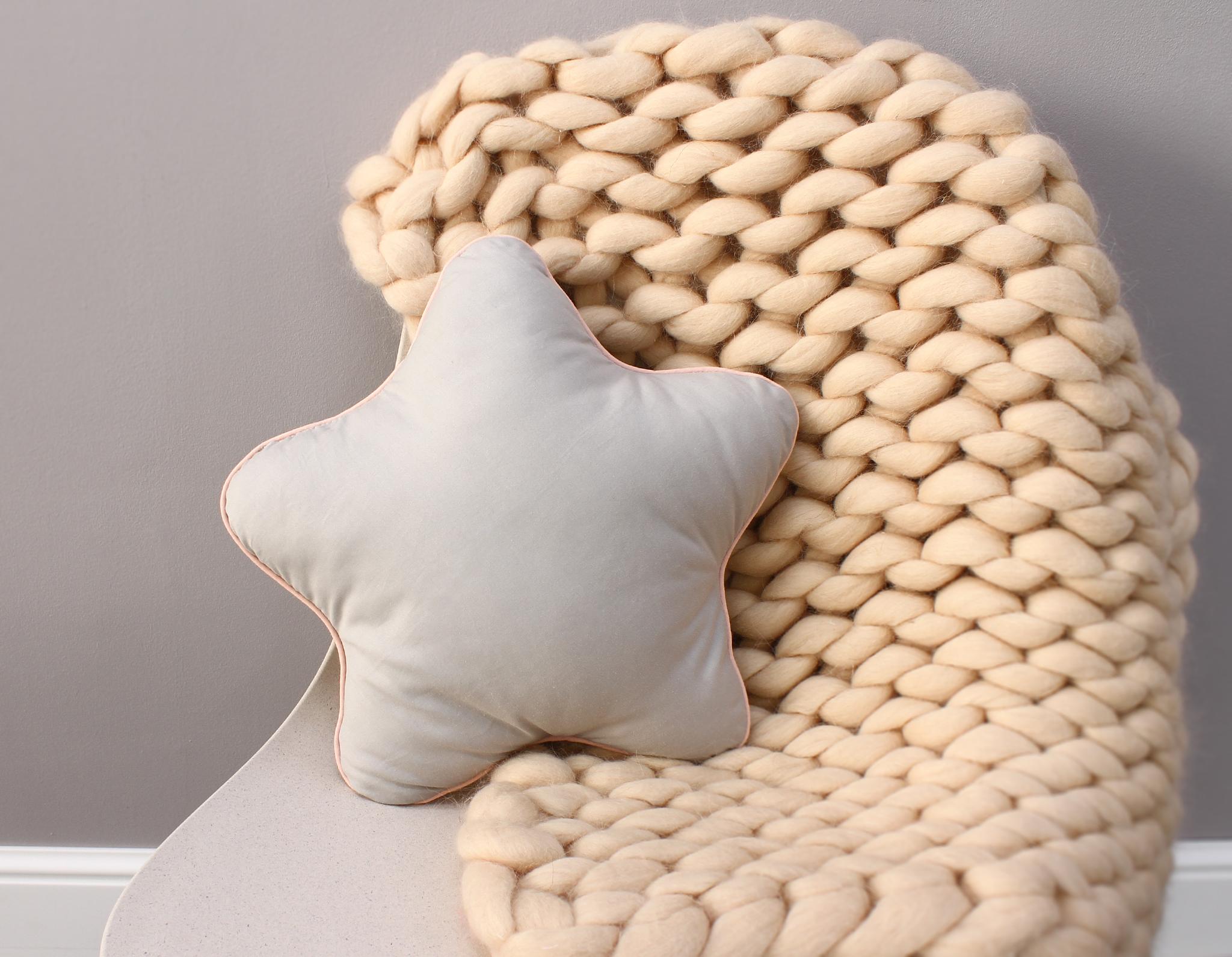 Подушка звезда 7