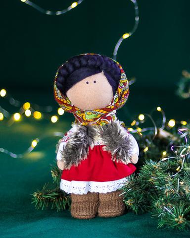 Лялька Варвара. Різдвяна серія La Petite Вертеп - українка