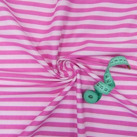 Бязь плательная 150 см 1552/12 цвет розовый/светло-розовый