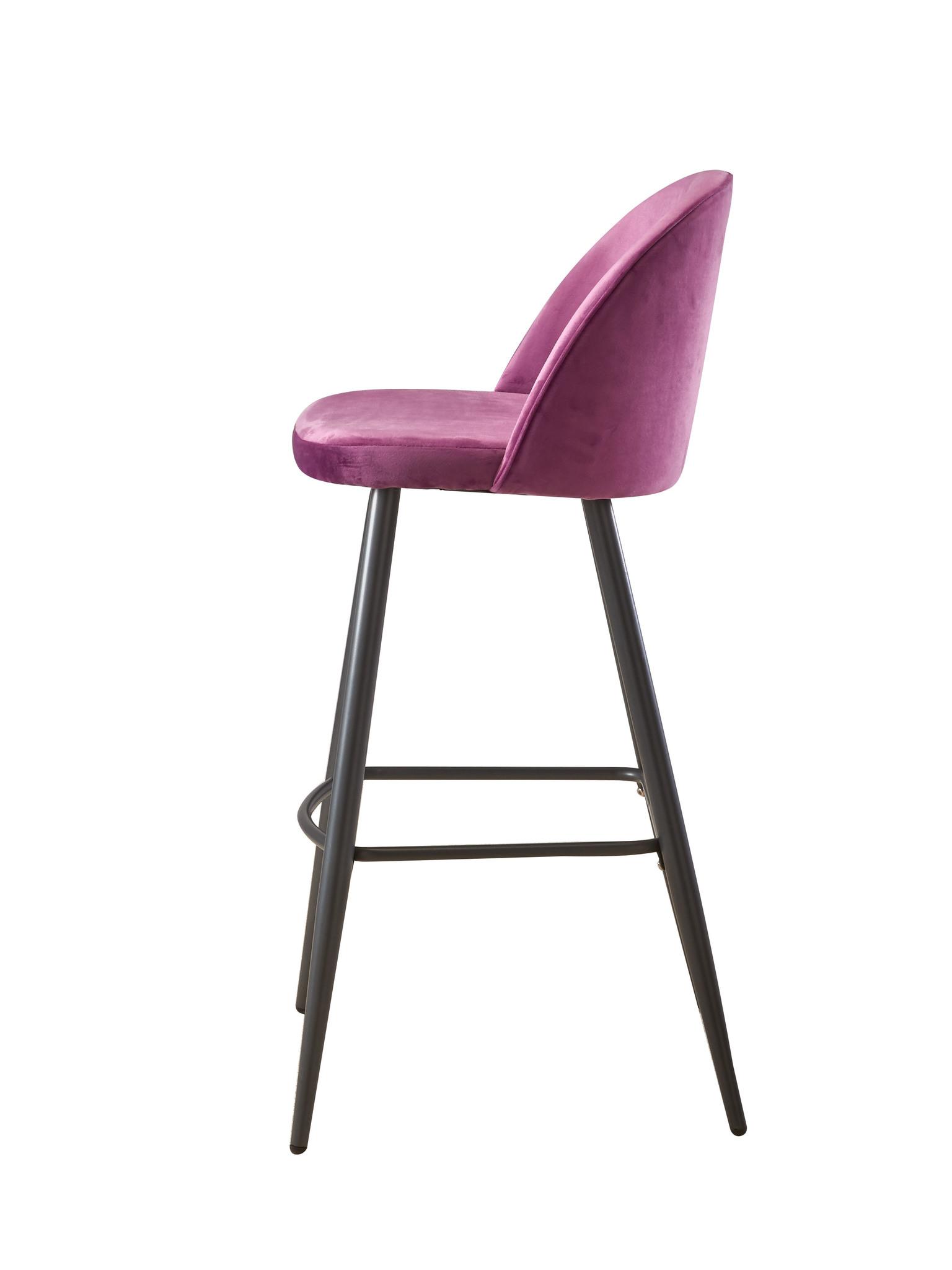 Барный стул BCR-502 LILAC (лиловый)