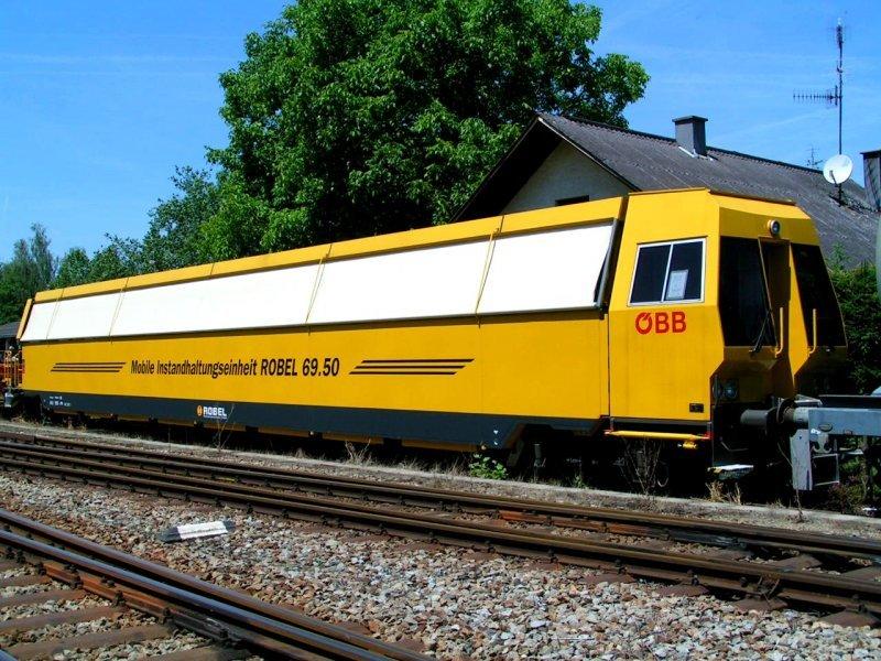 Мобильный вагон для технического обслуживания Robel 69.50