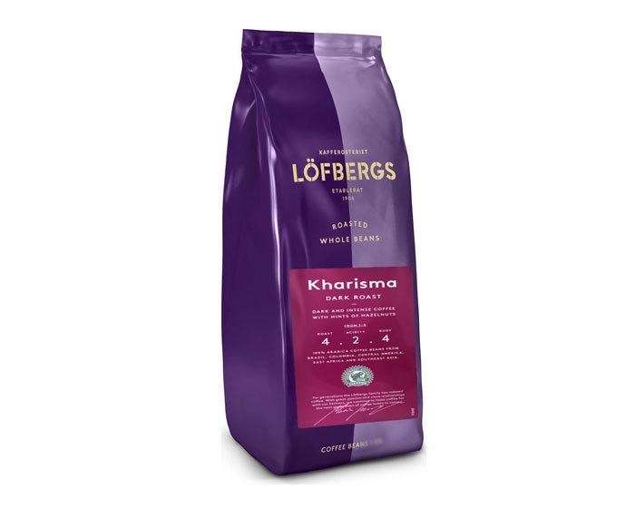 купить кофе в зернах Lofbergs Kharisma, 400 г