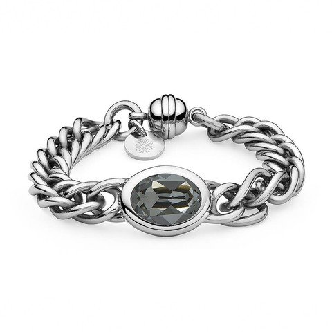 Браслет Tivola Silver Night 137114 BW/S