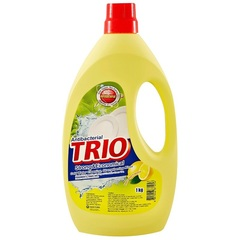 Антибактериальное средство для мытья посуды Aekyung Trio Lemon с ароматом свежего лимона 1 л