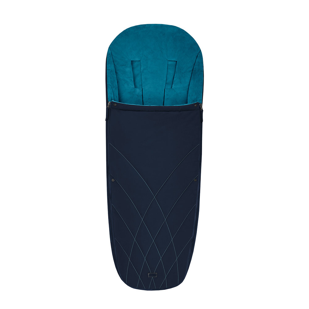Теплые конверты для коляски Cybex Теплый конверт в коляску Cybex Priam Footmuff Nautical Blue 10342_1_92-Platinum-Footmuff-Design-Nautical-Blue.jpg