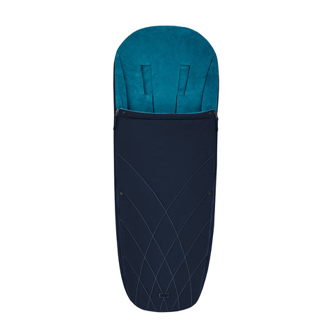 Теплый конверт в коляску Cybex Priam Footmuff Nautical Blue