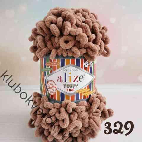 ALIZE PUFFY FINE 329, Молочный коричневый
