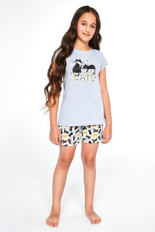 Пижама для девочек с шортами CORNETTE 787/788 CATS