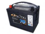 Аккумулятор автомобильный Deka 634 MF  ( 12V 75Ah / 12В 75Ач ) - фотография
