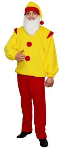 Карнавальный костюм Гном красный