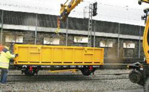 Прицеп для строительных площадок Robel 55.40