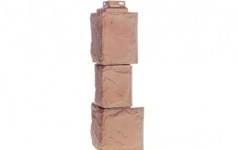 Наружный угол Fineber Камень крупный 459х140 мм