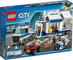 Lego konstruktor City Police Мобильный командный центр 60139