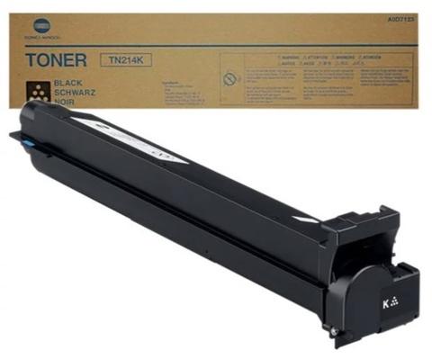 Тонер-картридж Konica Minolta TN-214K A0D7154 черный