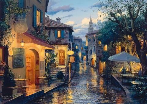 Алмазная Мозаика 40x50 Вечерняя Венеция (арт. MGL8076 )