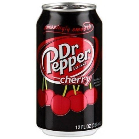Dr Pepper Cherry Доктор Пеппер Вишня Европа 0,330 л