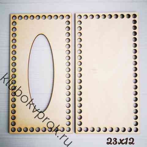 Набор для салфетницы 23*12 см, прямоугольник