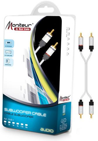 Real Cable 2RCA-1, 0.5m, кабель межблочный
