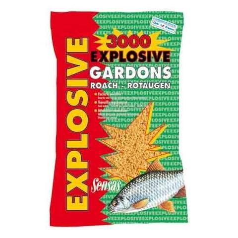 Прикормка Sensas 3000 EXPLOSIVE Gardons 1кг
