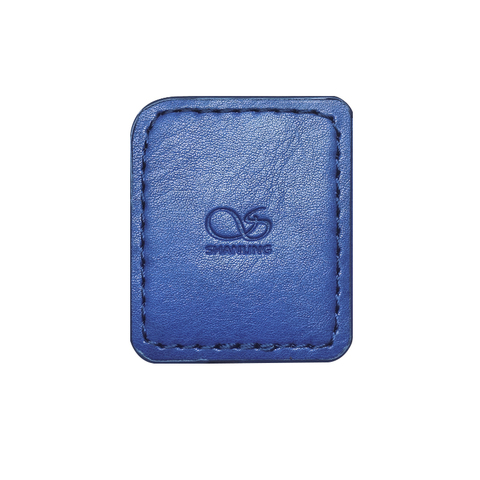 Shanling M0 Leather Case blue, чехол для плеера