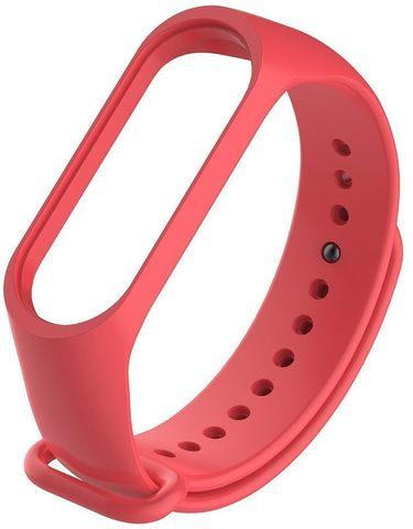 Ремешок для браслета Xiaomi Mi Band 5 (Красный)