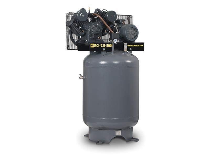 Компрессор поршневой Comprag RCI-4-500V с вертикальным ресивером