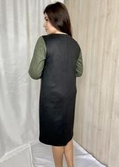 Сієра. Красива повсякденна жіноча замшева сукня. Хакі